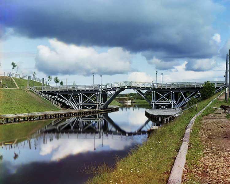Serguéi Prokudin-Gorski puente