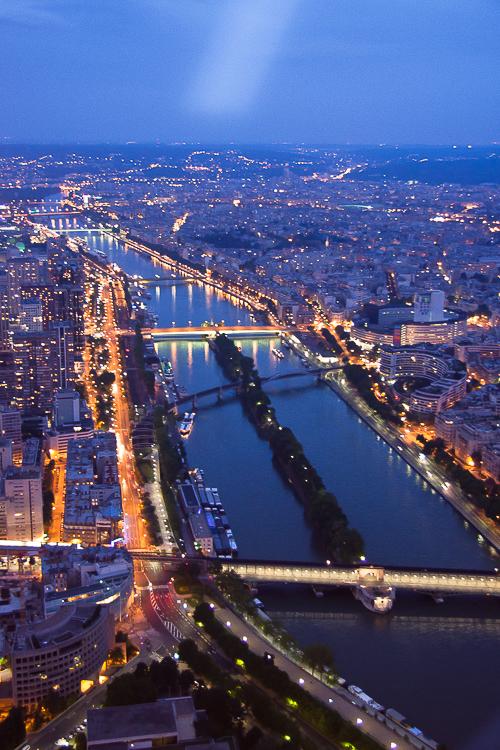 París con el río Sena