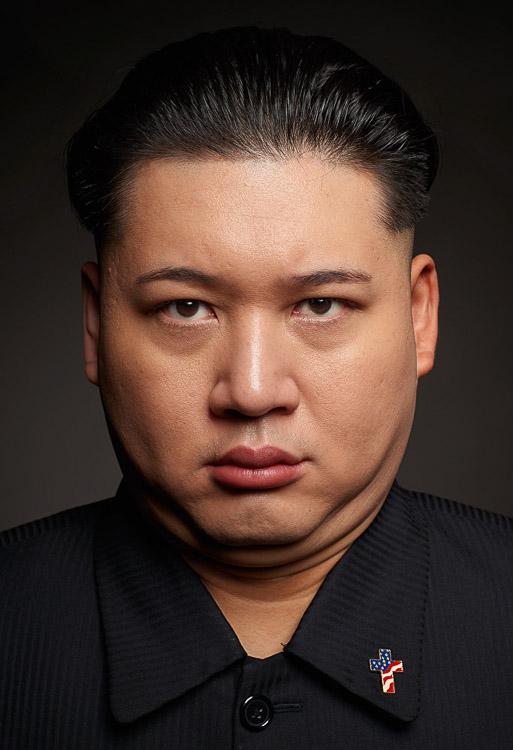 Imitador de Kim Jong-Un