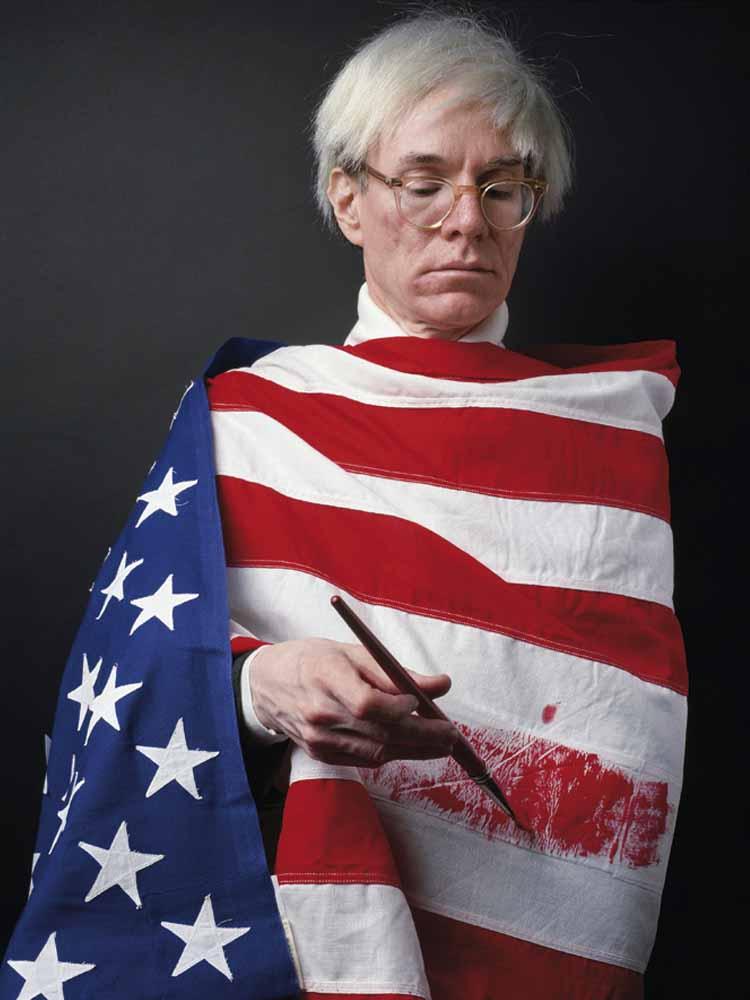 Alberto Schommer Andy Warhol 1983