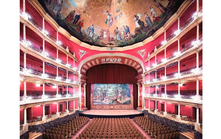 Sala de teatro en Guadalajara