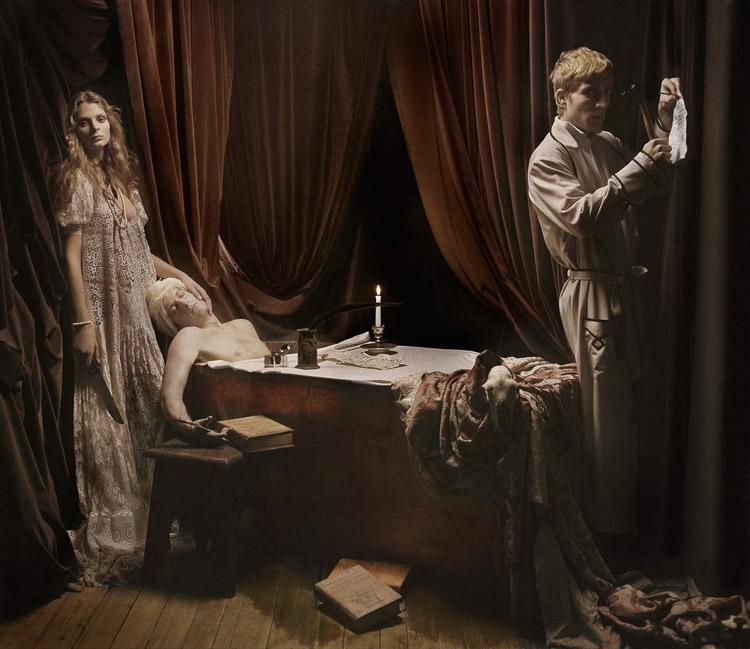 Like a painting por Eugenio Recuenco