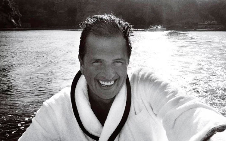 Retrato de Mario Testino
