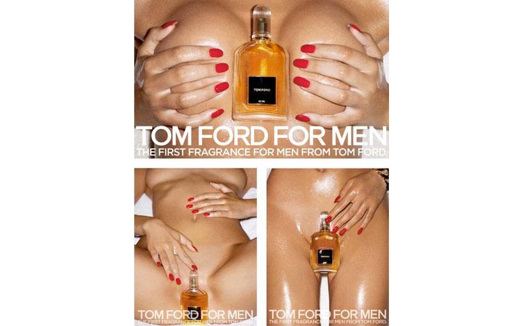 Terry Richardson | Campaña de perfumes Tom Ford for men