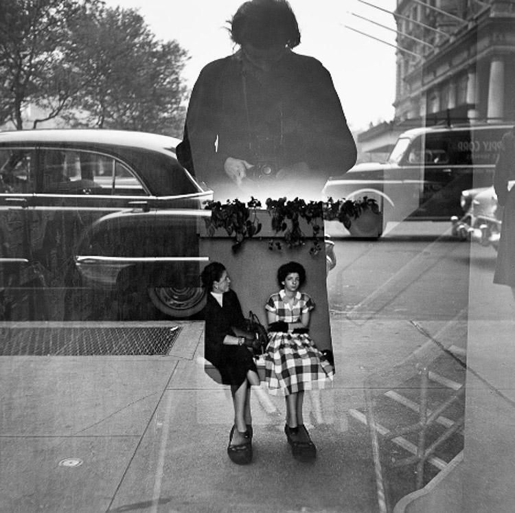 Autorretrato de Vivian Maier