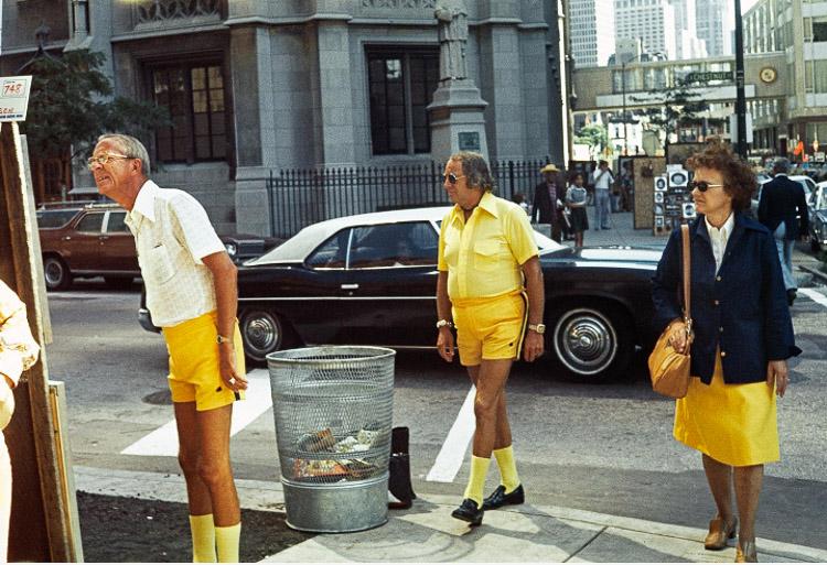 Calles de Chicago en 1975
