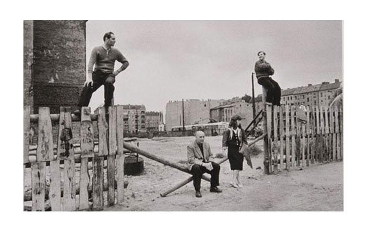 Arno Fischer | Ost Berlín Friedrichshsain 1957