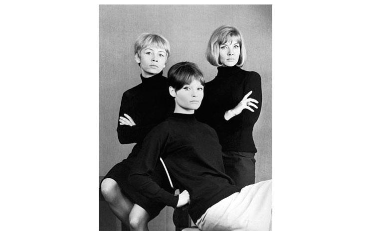 Arno Fischer | Jutta Hoffmann, Annekatrin Burger y Anfelika Domrose en Ostberlin 1965