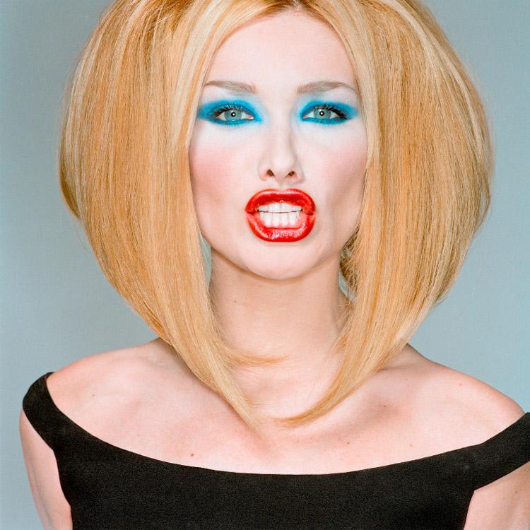 Michel Comte| Carla Bruni. Vogue Italia, 1996. Michel Comte: Portraits. DiChroma Photography