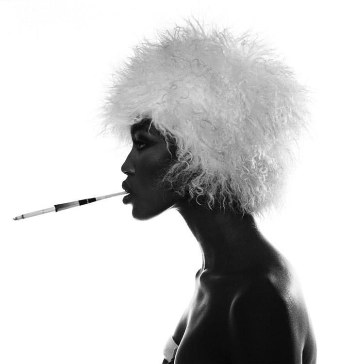 Michel Comte| Naomi Campbell. Vogue Italia, 1994. Michel Comte: Portraits. DiChroma Photography