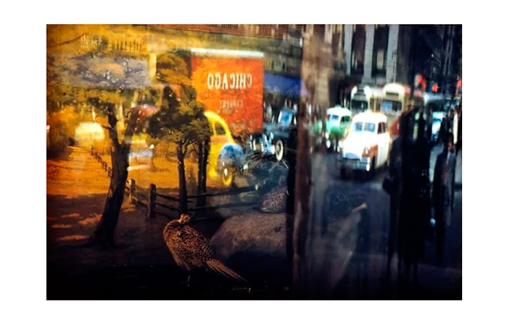 Ernst Haas | Reflection 42nd Street