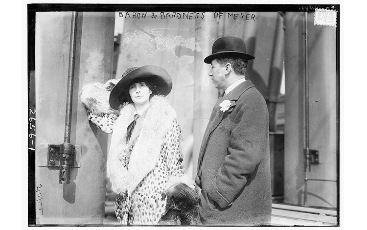 El Barón Adolph de Meyer y la Baronesa Olga de Meyer