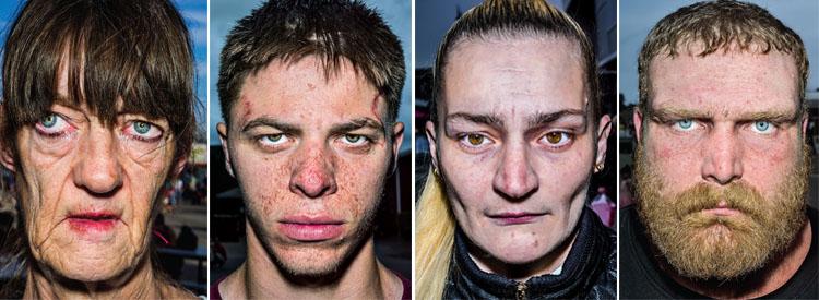 Bruce Gilden: Faces