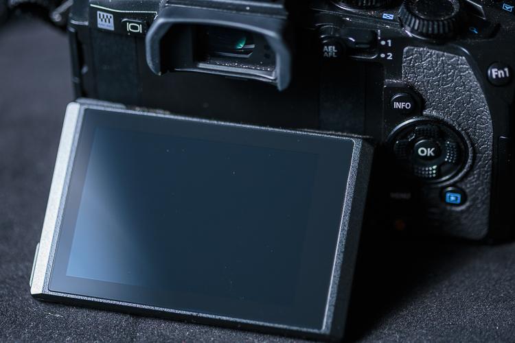 Visor móvil de una cámara
