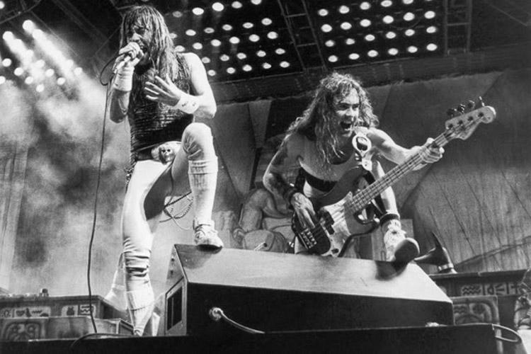 Iron Maiden en Rock in Rio en 1985