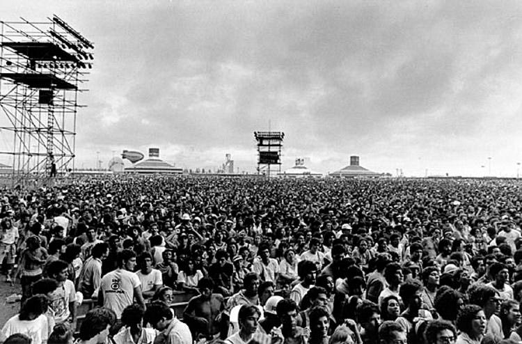 Primera edición de Rock in Rio en 1985