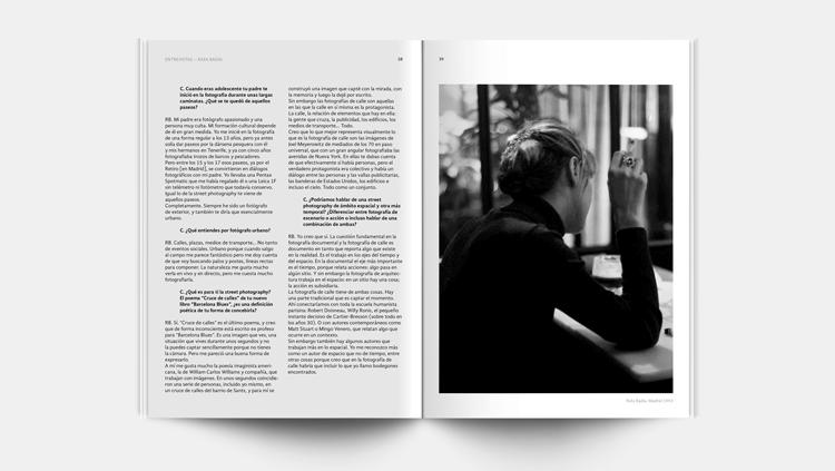 Página interior de la revista Carrete