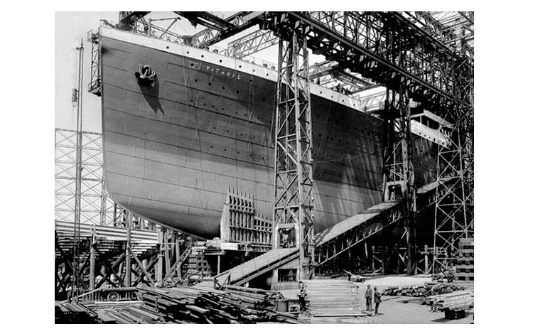Titanic en construcción