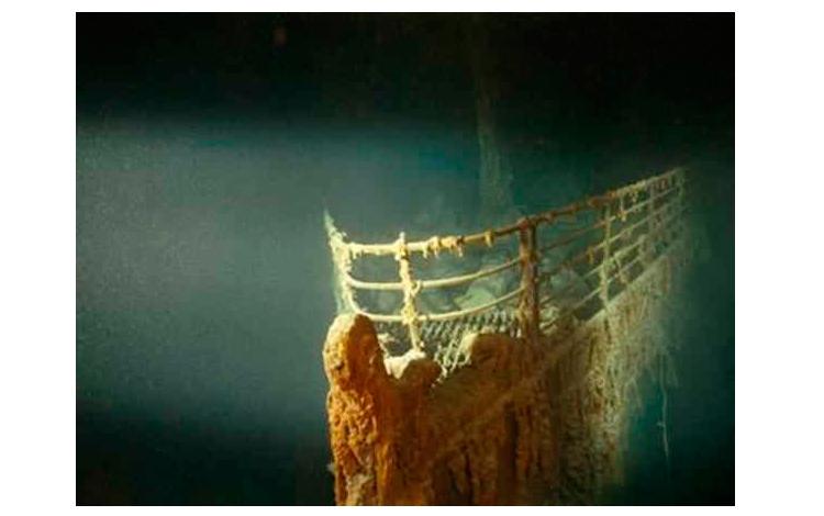 El Titanic fue encontrado durante una misión secreta de la armada en la Guerra Fría