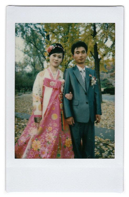 Ri Ok-ran - foto tomada en Corea del Norte