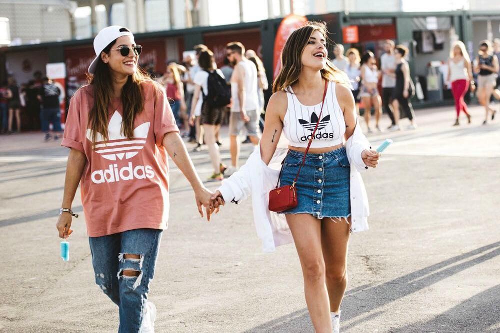 reportaje de moda de Dulceida para la revista Glamour
