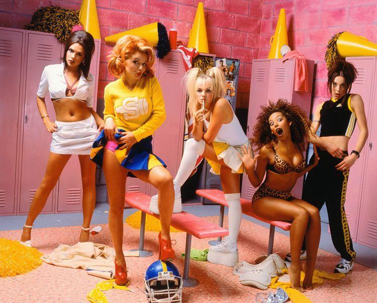 Fotografías de los años 90, Spice Girls