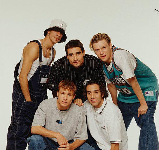 Fotografía de los años 90, Backstreet Boys