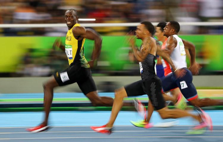Usain Bolt en los Juegos Olímpicos de Río, el 14 de agosto de 2016.
