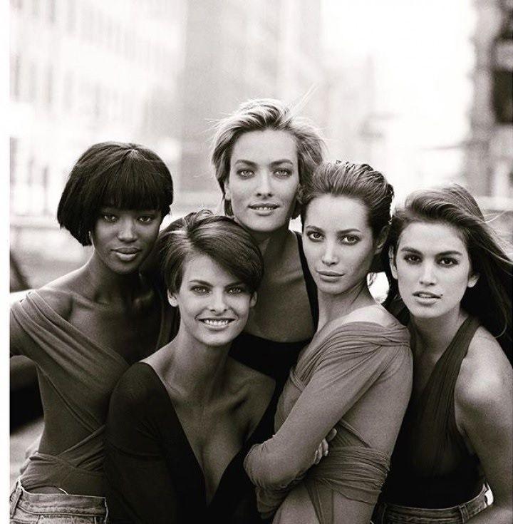 Portada Vogue de 1990