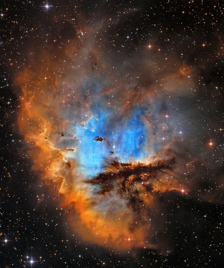 Andriy Borovkov de NGC 281 fotografías más impresionantes