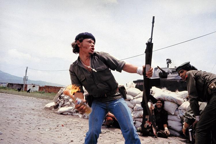 Molotov Man, Susan Meiselas