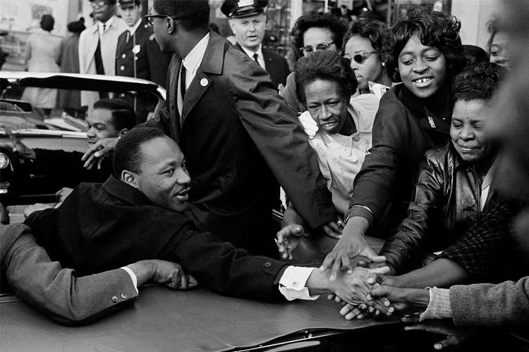 Agencia Magnum: Martin Luther King tras recoger el Nobel de la Paz