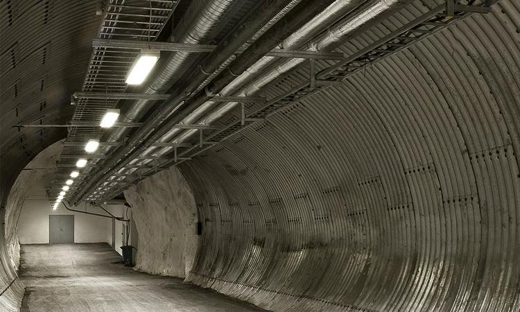 Bóveda del Fin del Mundo, túnel