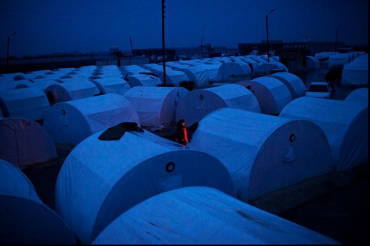Campo de refugiados Siria