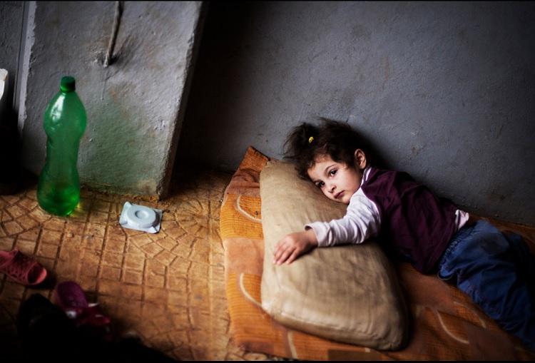 Familias en la guerra de Siria