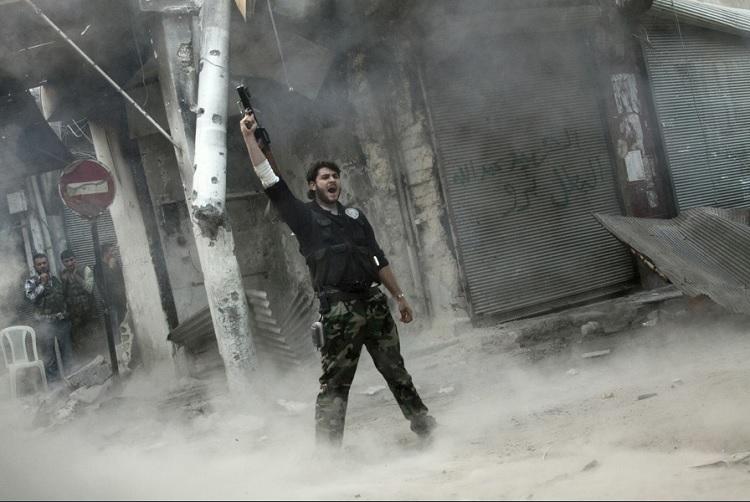 Rebelde la guerra de Siria