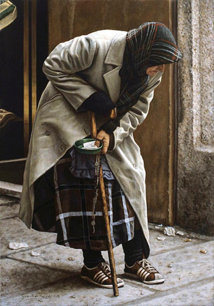 Acrílico de Giacchino Passini
