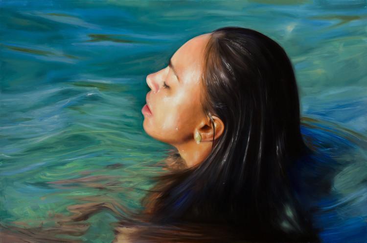 Reisha Perlmutter, óleo sobre lienzo