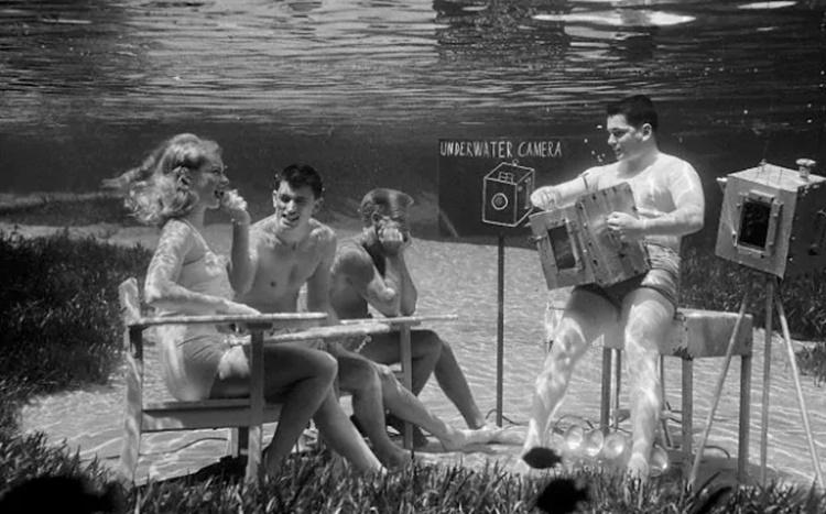 Bruce Mozert fotografía submarina