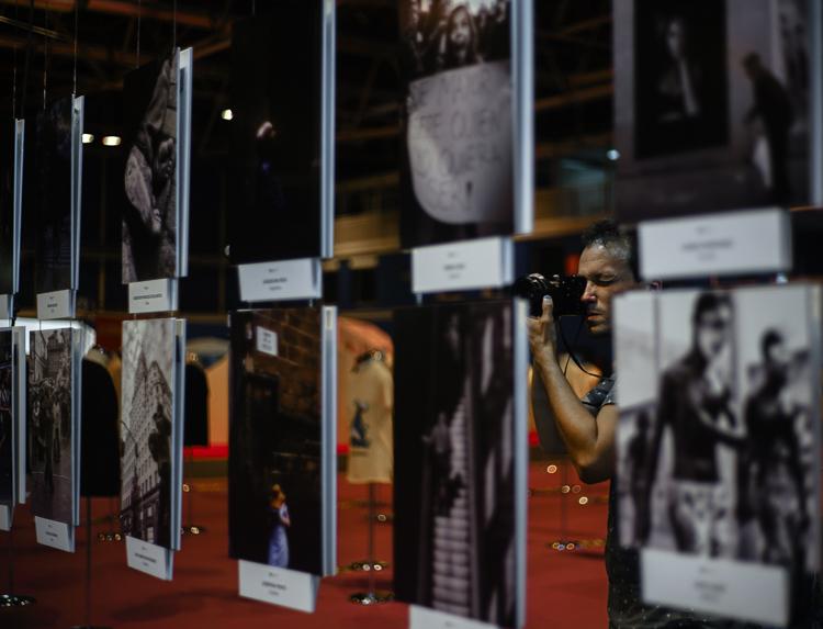 Fotografías presentadas a los concursos durante el festival