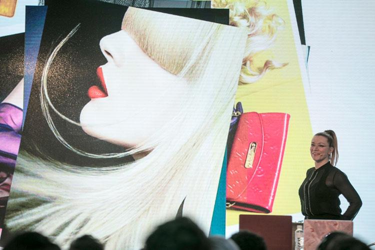 Justine Foord, digital retoucher.